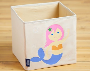 Mermaid 10x10x10 Storage Cube