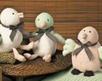 Bamboo Birdie Earth-Friendly Plush Toy