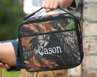 Woods Boys Monogrammed Lunch Box, Monogram Lunch Bag, Back to School