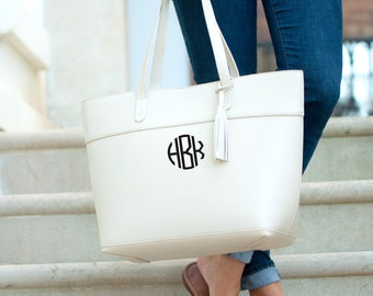 Creme Aubrey Purse, Personalized Bag