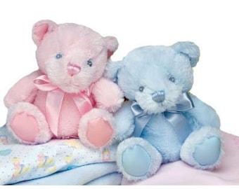 Rattle Plush Teddy Bear Toy