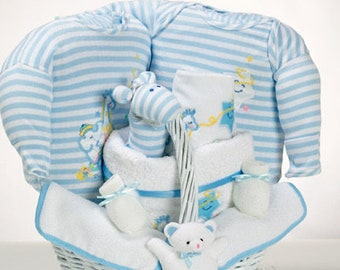 Catch a Star Baby Boy Gift Basket