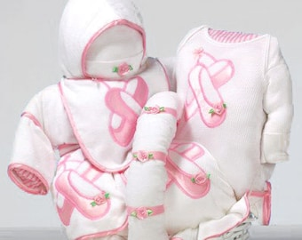Prima Ballerina Baby Gift Basket