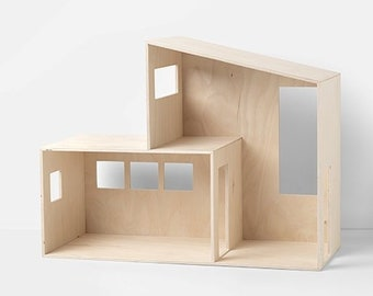 Funkis Wooden Doll House - Small