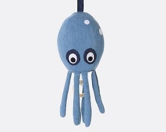 Octopus Music Mobile - Denim