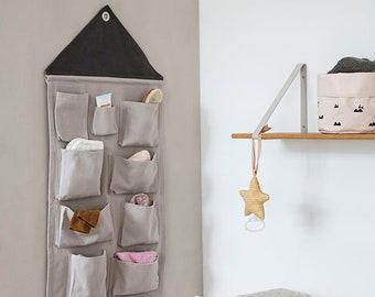 House Wall Storage - Grey
