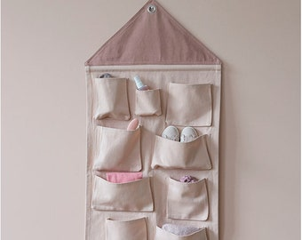 House Wall Storage - Rose