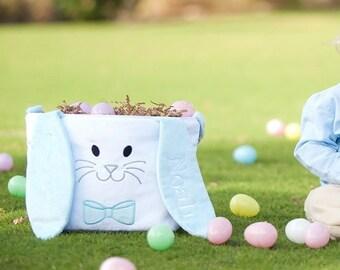 Hippity Hoppity Easter Bucket Blue