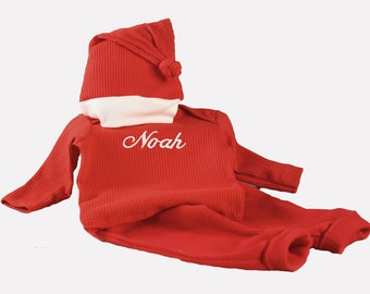 Personalized Baby Holiday Outfit