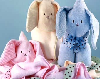 Bunny Hooded Baby Blankets