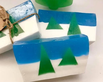 Designer Christmas Tree Scented Soap