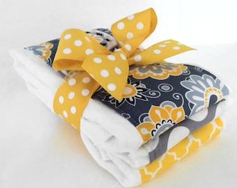 Sunshine Burp Cloths - Set of Three Burp Cloths