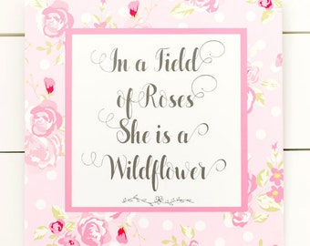 Rosebud Wall Art