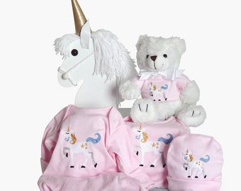 Magical Unicorn Baby Gift Pink
