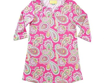 Lizzie Girl's Tunic with Monogram