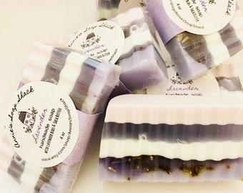Lavender Glycerin Soap, Handmade Soap, Natural Soap