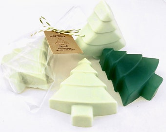 Christmas Tree Scented Soap for Christmas, Personalized Stocking Stuffer