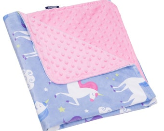 Unicorn Plush Blanket