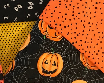 Pumpkin Halloween Pillowcase, Jack-O-Lantern, Optional Personalization