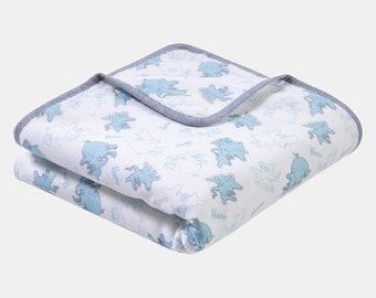Dr. Seuss™ Horton Luxe Muslin Blanket