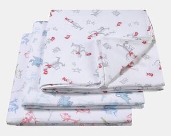 Dr. Seuss™ Muslin Swaddle Blanket 3 Pack