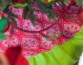 Noel Christmas Tree Skirt