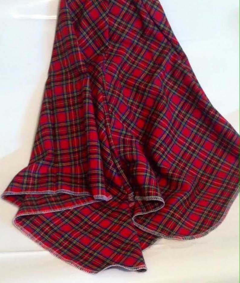 Plaid Baby Receiving Blanket Swaddle BlanketNewborn Flannel Blanket