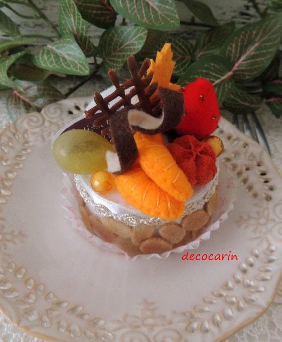 Felt Food Toys R Us : Felt food ready gift cake children pretend play