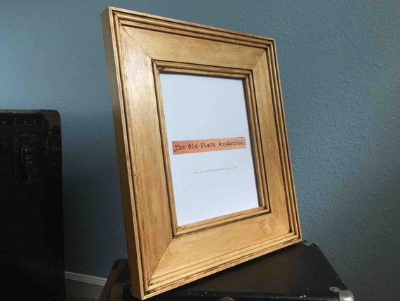 Clear Pine Picture Frame 8 X 10 Handmade Hand Etsy