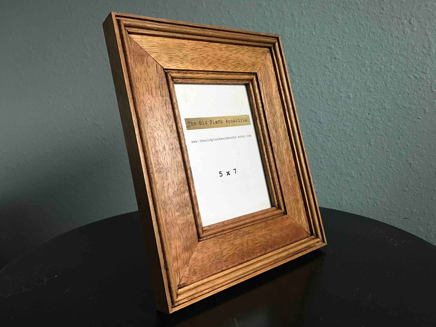 Mahogany Picture Frame - 5 x 7 - Made out of Reclaimed Mahogany from ...