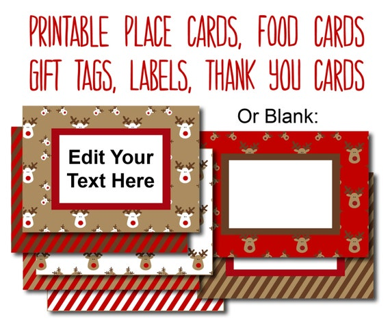 graphic about Printable Christmas Labels identified as Printable Xmas Food items Labels, Editable Xmas Tags, Xmas Food items Tags, Editable Xmas Labels, Food stuff Playing cards, Xmas Level Playing cards