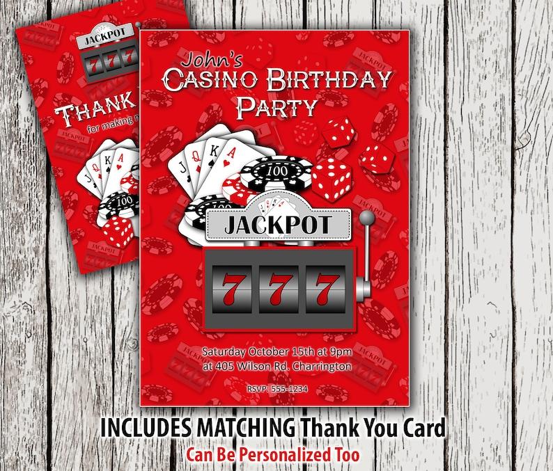 Einladung Casino