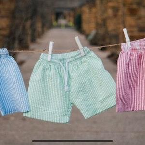 Bunnies or Sailboats Monogrammed Gingham Smocked Backpack Diaper Bag