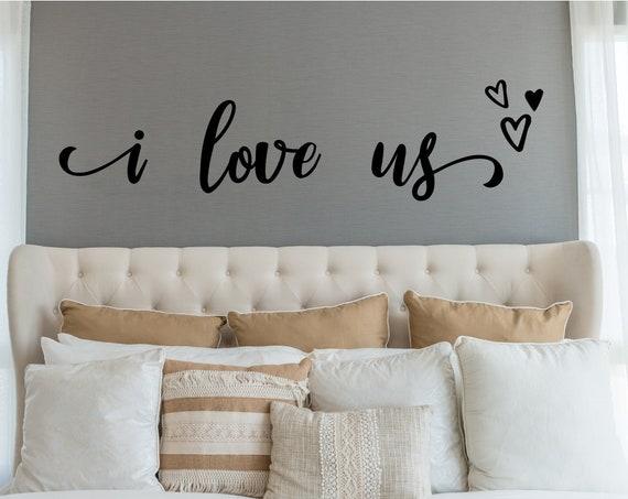 I Love Us Wall Decal