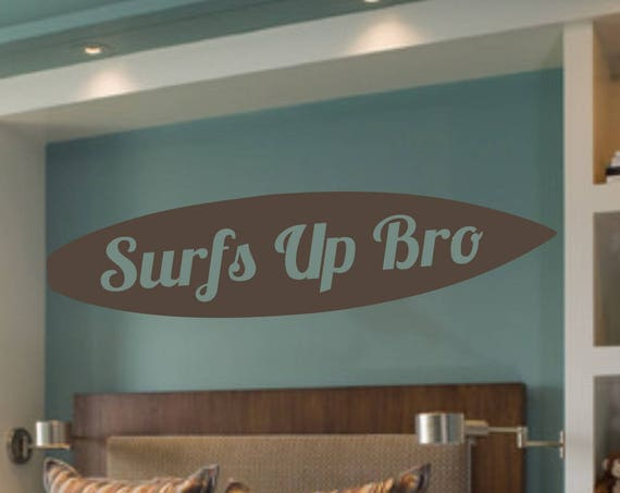 Surfboard Decal Personalized with Name