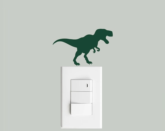 T Rex Light Switch Decal