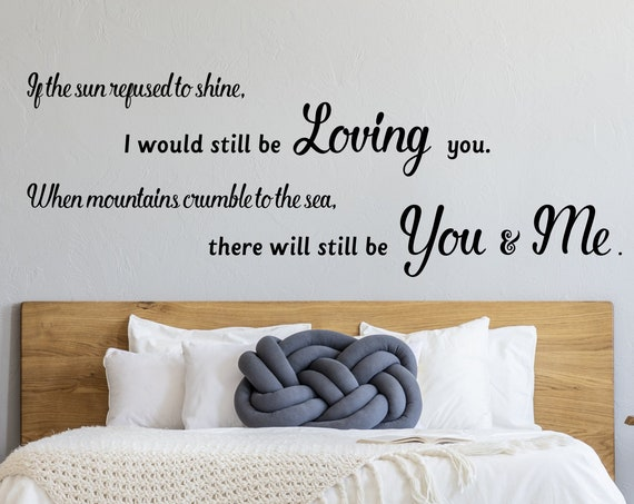 Thank You Song Lyrics Wall Decal Led Zeppelin