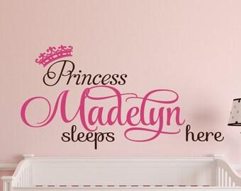Princess sleeps here | Etsy