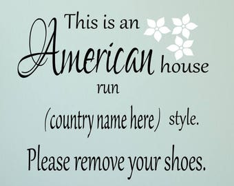 Please Remove Your Shoes Decal/Remove Shoes Decal /Please Remove Shoes/Remove Shoes Decal /Please Remove Your Shoes Decal/Remove Your Shoes