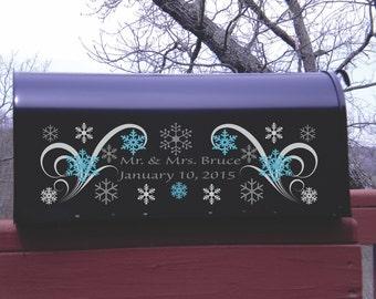 Frozen Wedding Winter Wedding Winter Wonderland Wedding Card Holder 2B