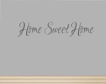 Home Sweet Home Decal #5 Vinyl Wall Decal