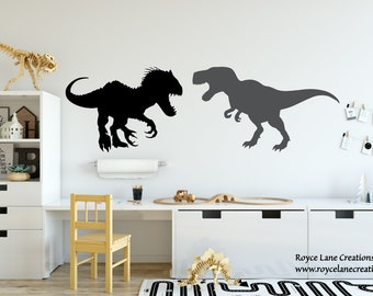 Indominus Rex Jurassic World Fallen Kingdom T Rex Wall Decal