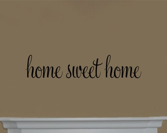 Home Sweet Home #2 Vinyl Wall Decal