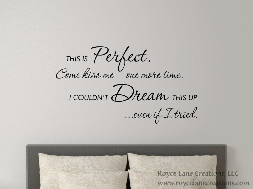 Song Lyrics Wall Decal / Heaven Song Lyrics Wall Art / Kane Brown ...