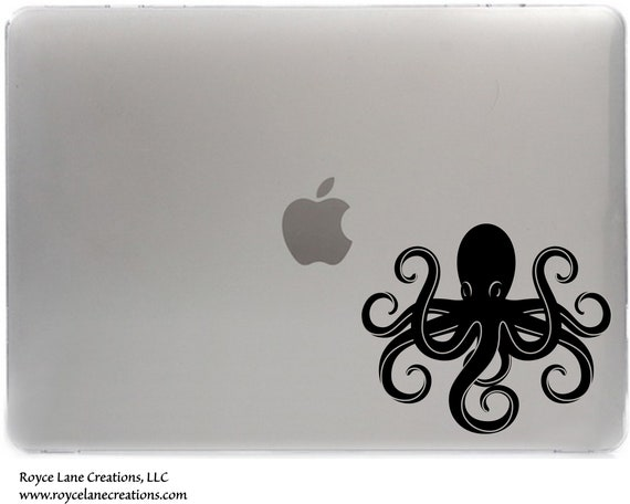 Octopus Macbook Decal