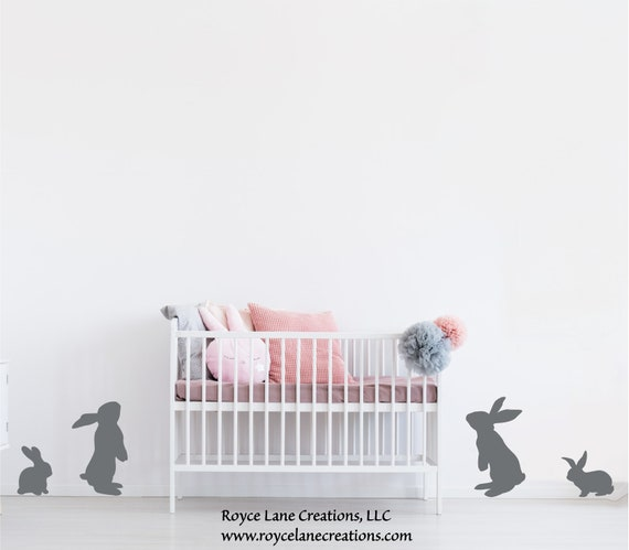 Nursery Bunny Rabbit Decals