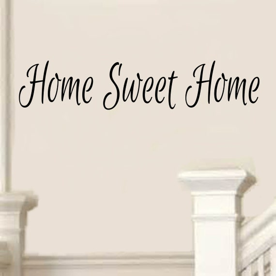 Home Sweet Home Decal 6