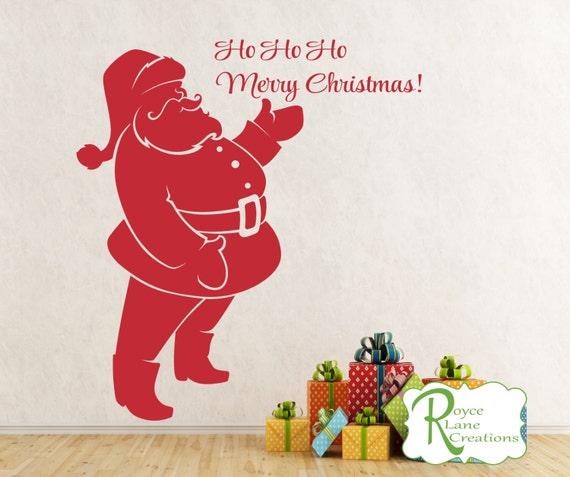 Santa Claus Door Decal