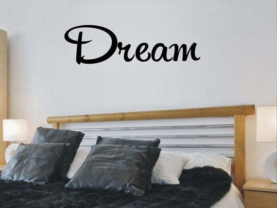 Dream Bedroom Wall Decal