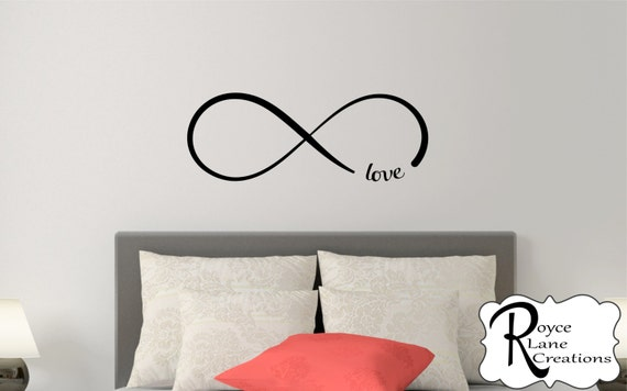 Infinity Bedroom Wall Decal